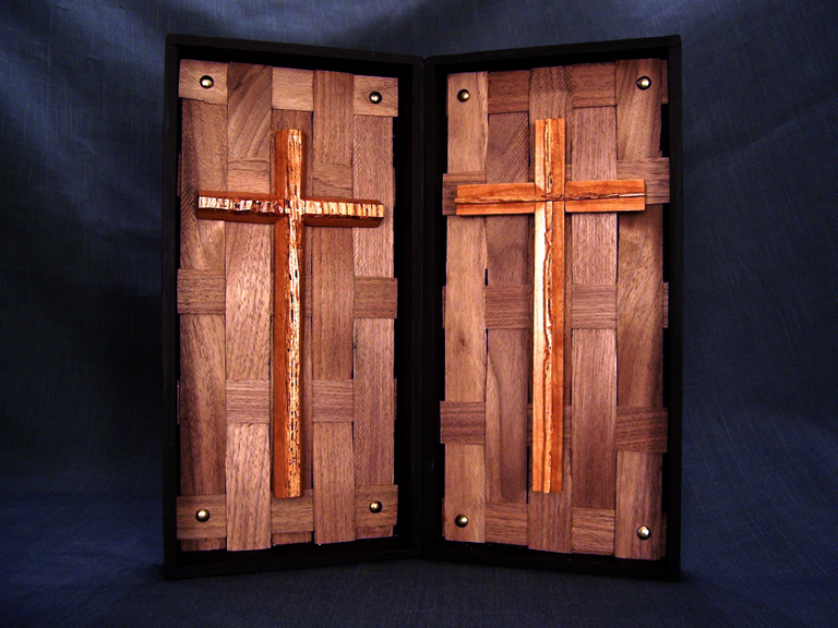 Brothers in Christ Liturgical Mixed wood