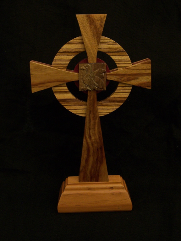 Jims Cross (Back) Liturgical Commissions Exotic wood