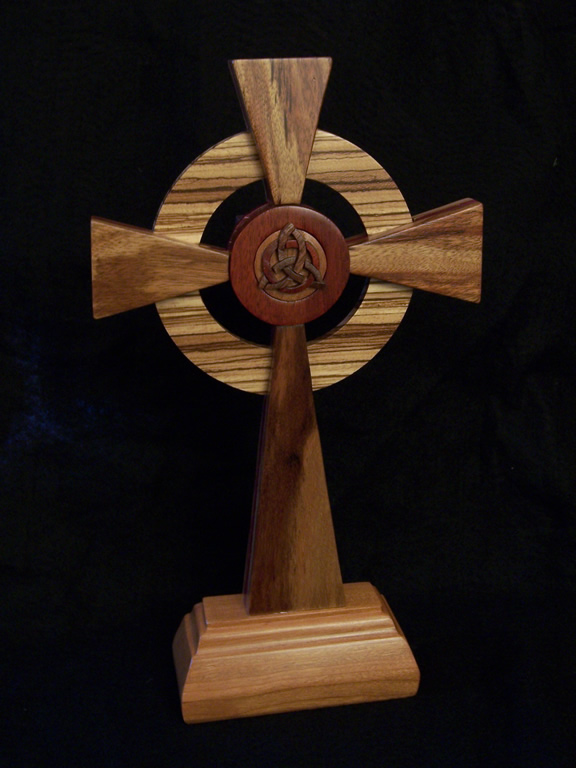 Jims Cross (Front) Liturgical Commissions Exotic wood
