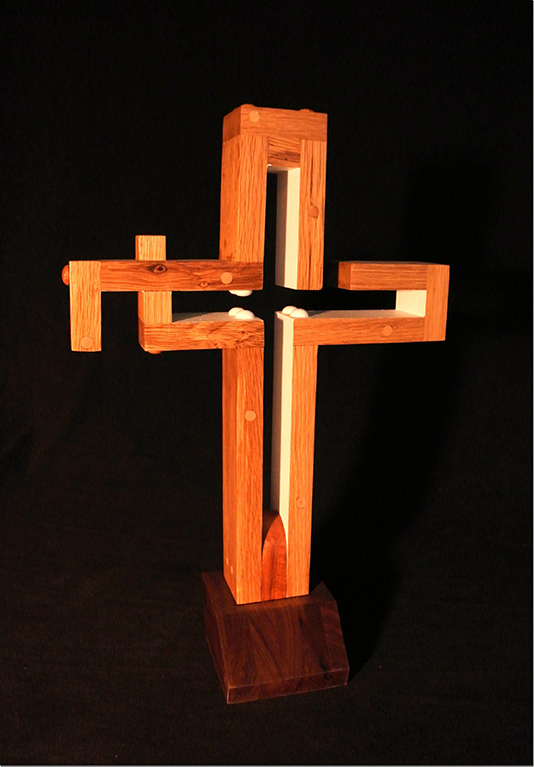 Oak Cross Liturgical Wood