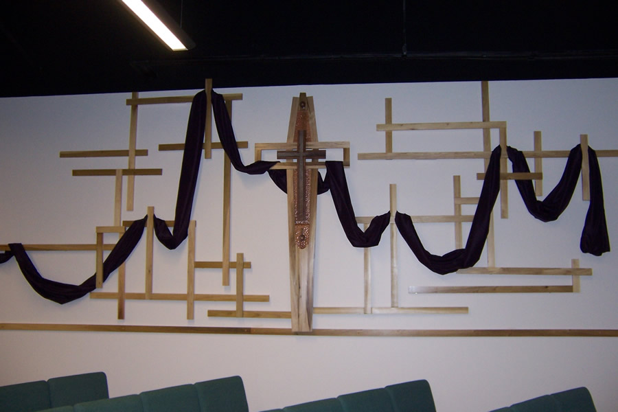 Shepherd Center Liturgical Wood