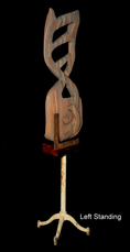 Left Standing FreeStanding Cherry wood