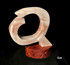 Que Letters_from_the_Artist pink alabaster stone